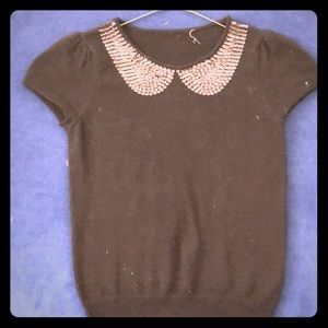Other - Kid Cashmere Sweatsr with Sequins